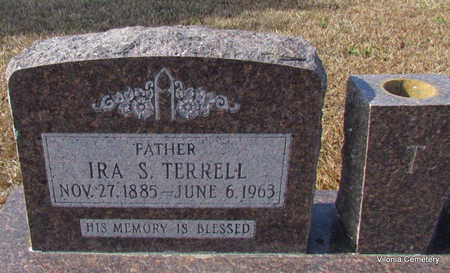TERRELL, IRA S (CLOSE UP - Faulkner County, Arkansas | IRA S (CLOSE UP TERRELL - Arkansas Gravestone Photos