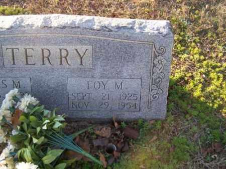 TERRY, FOY M. - Faulkner County, Arkansas | FOY M. TERRY - Arkansas Gravestone Photos