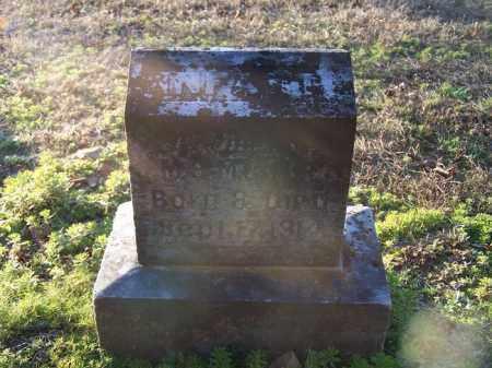 TERRY, INFANT DAUGHTER - Faulkner County, Arkansas   INFANT DAUGHTER TERRY - Arkansas Gravestone Photos