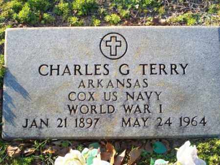 TERRY (VETERAN WWI), CHARLES G. - Faulkner County, Arkansas | CHARLES G. TERRY (VETERAN WWI) - Arkansas Gravestone Photos