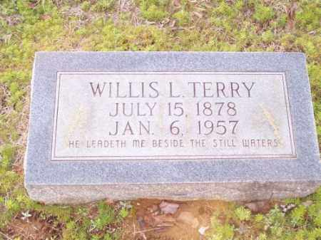 TERRY, WILLIS L. - Faulkner County, Arkansas | WILLIS L. TERRY - Arkansas Gravestone Photos