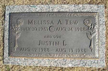 TEW, JUSTIN L. - Faulkner County, Arkansas | JUSTIN L. TEW - Arkansas Gravestone Photos