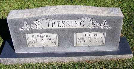 THESSING, BERNARD - Faulkner County, Arkansas | BERNARD THESSING - Arkansas Gravestone Photos