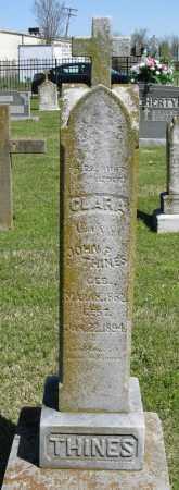 THINES, CLARA - Faulkner County, Arkansas   CLARA THINES - Arkansas Gravestone Photos