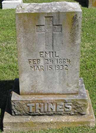 THINES, EMIL - Faulkner County, Arkansas | EMIL THINES - Arkansas Gravestone Photos