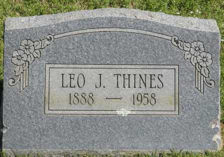 THINES, LEO J. - Faulkner County, Arkansas   LEO J. THINES - Arkansas Gravestone Photos