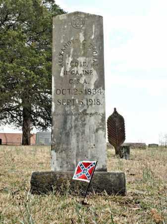 THOMAS  (VETERAN  CSA), ALEXANDER COVINGTON - Faulkner County, Arkansas   ALEXANDER COVINGTON THOMAS  (VETERAN  CSA) - Arkansas Gravestone Photos