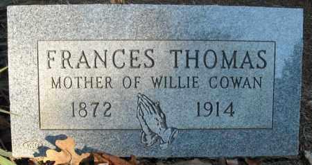 THOMAS, FRANCES - Faulkner County, Arkansas | FRANCES THOMAS - Arkansas Gravestone Photos