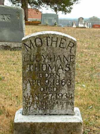THOMAS, LUCY JANE - Faulkner County, Arkansas | LUCY JANE THOMAS - Arkansas Gravestone Photos