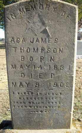 THOMPSON, ASA JAMES - Faulkner County, Arkansas | ASA JAMES THOMPSON - Arkansas Gravestone Photos