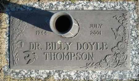 THOMPSON, DR., BILLY DOYLE - Faulkner County, Arkansas   BILLY DOYLE THOMPSON, DR. - Arkansas Gravestone Photos