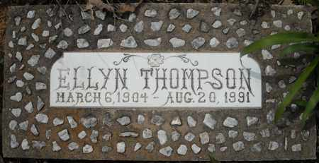 THOMPSON, ELLYN - Faulkner County, Arkansas | ELLYN THOMPSON - Arkansas Gravestone Photos