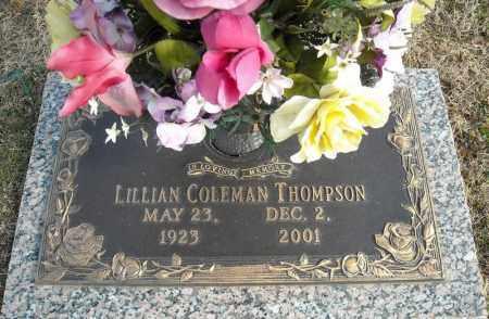 THOMPSON, LILLIAN - Faulkner County, Arkansas | LILLIAN THOMPSON - Arkansas Gravestone Photos