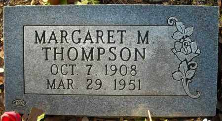 THOMPSON, MARGARET M. - Faulkner County, Arkansas | MARGARET M. THOMPSON - Arkansas Gravestone Photos