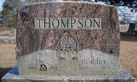THOMPSON, CLAUDIA - Faulkner County, Arkansas   CLAUDIA THOMPSON - Arkansas Gravestone Photos