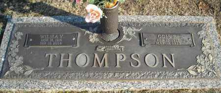 THOMPSON, WILMA V. - Faulkner County, Arkansas | WILMA V. THOMPSON - Arkansas Gravestone Photos