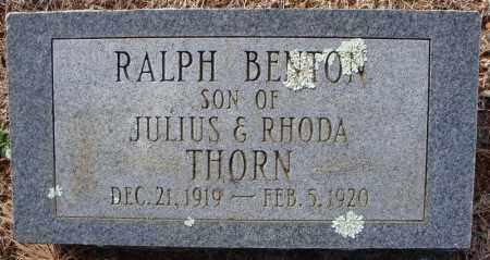 THORN, RALPH BENTON - Faulkner County, Arkansas | RALPH BENTON THORN - Arkansas Gravestone Photos