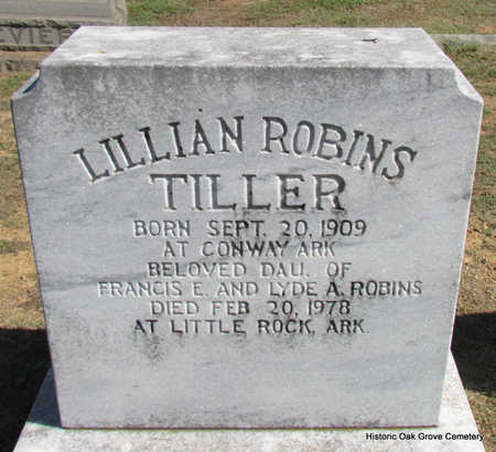 TILLER, LILLIAN - Faulkner County, Arkansas | LILLIAN TILLER - Arkansas Gravestone Photos