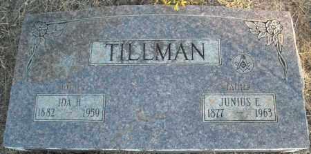 TILLMAN, IDA H. - Faulkner County, Arkansas | IDA H. TILLMAN - Arkansas Gravestone Photos