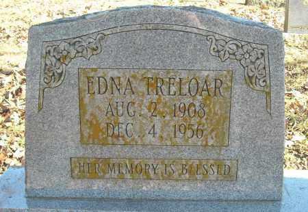 TRELOAR, EDNA - Faulkner County, Arkansas | EDNA TRELOAR - Arkansas Gravestone Photos