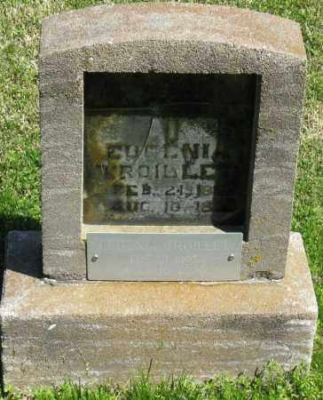 TROILLET, EUGENIA - Faulkner County, Arkansas | EUGENIA TROILLET - Arkansas Gravestone Photos