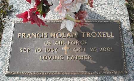 TROXELL (VETERAN), FRANCIS NOLAN - Faulkner County, Arkansas   FRANCIS NOLAN TROXELL (VETERAN) - Arkansas Gravestone Photos