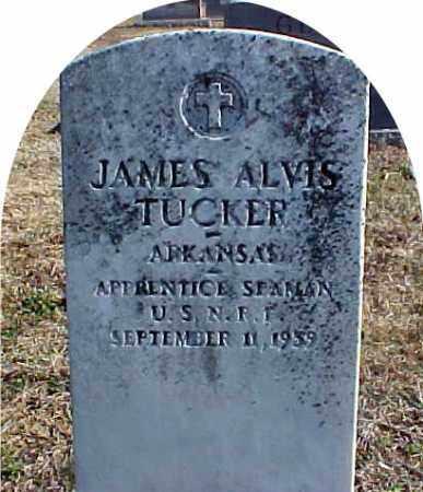 TUCKER  (VETERAN), JAMES ALVIS - Faulkner County, Arkansas   JAMES ALVIS TUCKER  (VETERAN) - Arkansas Gravestone Photos