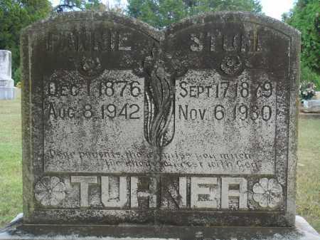 TURNER, FANNIE - Faulkner County, Arkansas | FANNIE TURNER - Arkansas Gravestone Photos