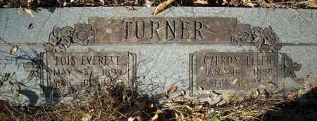 TURNER, CZERDA ELLEN - Faulkner County, Arkansas | CZERDA ELLEN TURNER - Arkansas Gravestone Photos
