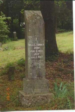 "KINARD TURNER, MILA ""MILEY"" - Faulkner County, Arkansas | MILA ""MILEY"" KINARD TURNER - Arkansas Gravestone Photos"