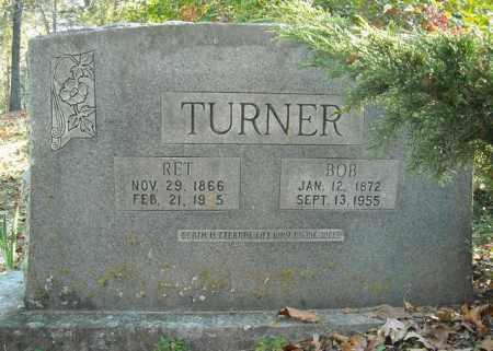 IRBY TURNER, ANNA ALVA RHETTA - Faulkner County, Arkansas | ANNA ALVA RHETTA IRBY TURNER - Arkansas Gravestone Photos