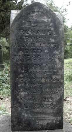 TURNER, RONAL E. - Faulkner County, Arkansas   RONAL E. TURNER - Arkansas Gravestone Photos