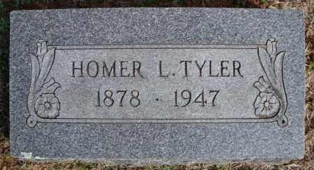 TYLER, HOMER L. - Faulkner County, Arkansas   HOMER L. TYLER - Arkansas Gravestone Photos