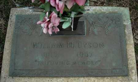 TYSON, WILLIAM H. - Faulkner County, Arkansas | WILLIAM H. TYSON - Arkansas Gravestone Photos