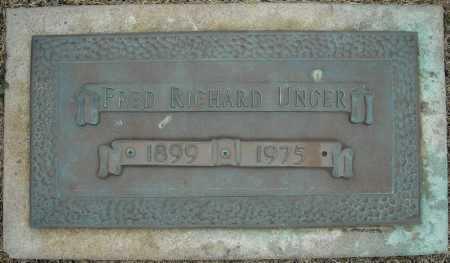 UNGER, FRED RICHARD - Faulkner County, Arkansas | FRED RICHARD UNGER - Arkansas Gravestone Photos