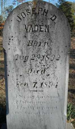 VADEN, JOSEPH D - Faulkner County, Arkansas   JOSEPH D VADEN - Arkansas Gravestone Photos