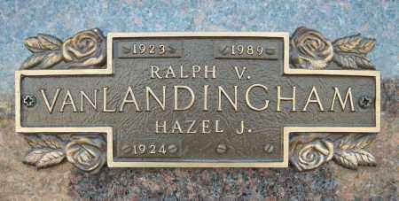 VANLANDINGHAM, RALPH V. - Faulkner County, Arkansas | RALPH V. VANLANDINGHAM - Arkansas Gravestone Photos