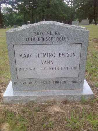VANN, MARY - Faulkner County, Arkansas | MARY VANN - Arkansas Gravestone Photos