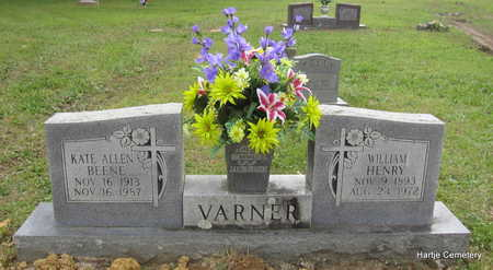 VARNER, KATE ALLEN - Faulkner County, Arkansas | KATE ALLEN VARNER - Arkansas Gravestone Photos