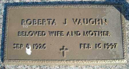 VAUGHN, ROBERTA J. - Faulkner County, Arkansas | ROBERTA J. VAUGHN - Arkansas Gravestone Photos