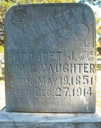 VAUGHTER, MARGARET J. - Faulkner County, Arkansas   MARGARET J. VAUGHTER - Arkansas Gravestone Photos