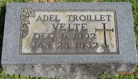 TROILLET VELTE, ADEL - Faulkner County, Arkansas | ADEL TROILLET VELTE - Arkansas Gravestone Photos