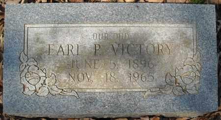 VICTORY, EARL P. - Faulkner County, Arkansas   EARL P. VICTORY - Arkansas Gravestone Photos