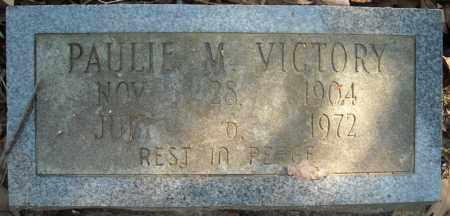 VICTORY, PAULIE M. - Faulkner County, Arkansas | PAULIE M. VICTORY - Arkansas Gravestone Photos