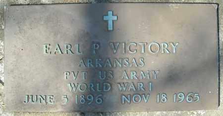 VICTORY (VETERAN WWI), EARL P - Faulkner County, Arkansas   EARL P VICTORY (VETERAN WWI) - Arkansas Gravestone Photos