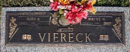 VIERECK, WAYNE W. - Faulkner County, Arkansas | WAYNE W. VIERECK - Arkansas Gravestone Photos