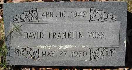 VOSS, DAVID FRANKLIN - Faulkner County, Arkansas   DAVID FRANKLIN VOSS - Arkansas Gravestone Photos