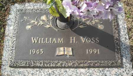 VOSS, WILLIAM H. - Faulkner County, Arkansas | WILLIAM H. VOSS - Arkansas Gravestone Photos