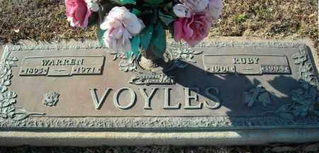 VOYLES, WARREN - Faulkner County, Arkansas | WARREN VOYLES - Arkansas Gravestone Photos