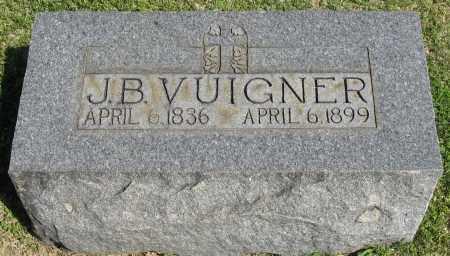 VUIGNER, J.B. - Faulkner County, Arkansas | J.B. VUIGNER - Arkansas Gravestone Photos